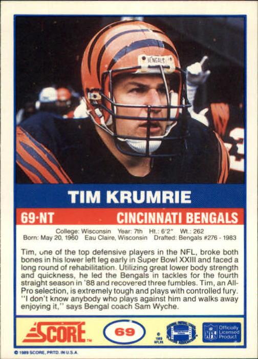 1989-Score-Football-Card-s-1-200-Rookies-A0435-You-Pick-10-FREE-SHIP thumbnail 133