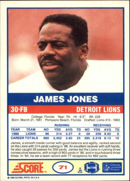 1989-Score-Football-Card-s-1-200-Rookies-A0435-You-Pick-10-FREE-SHIP thumbnail 137