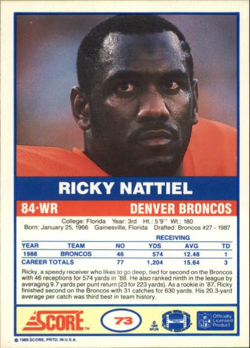 1989-Score-Football-Card-s-1-200-Rookies-A0435-You-Pick-10-FREE-SHIP thumbnail 139