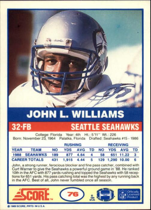 1989-Score-Football-Card-s-1-200-Rookies-A0435-You-Pick-10-FREE-SHIP thumbnail 145