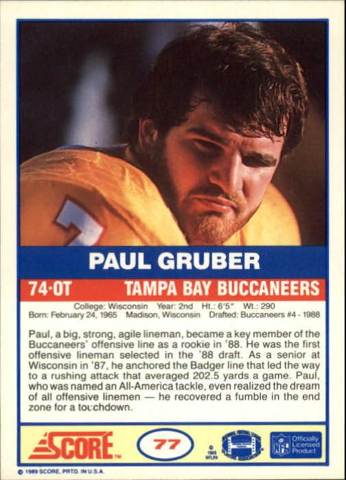 1989-Score-Football-Card-s-1-200-Rookies-A0435-You-Pick-10-FREE-SHIP thumbnail 147
