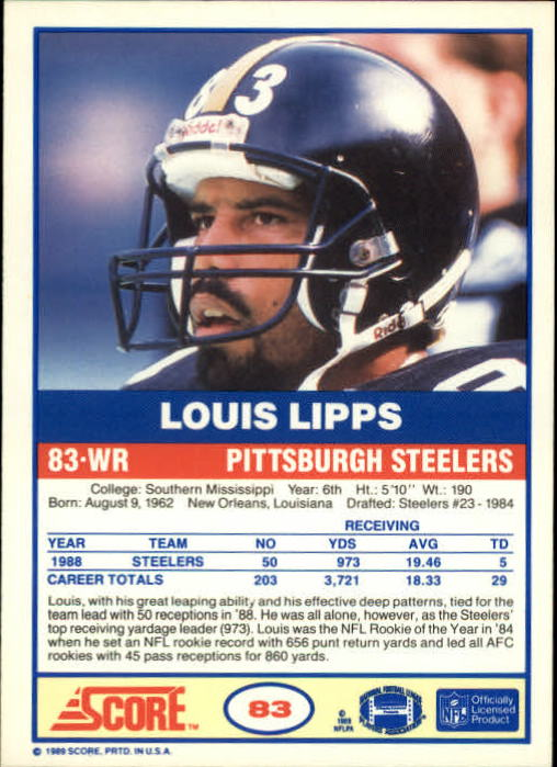 1989-Score-Football-Card-s-1-200-Rookies-A0435-You-Pick-10-FREE-SHIP thumbnail 159