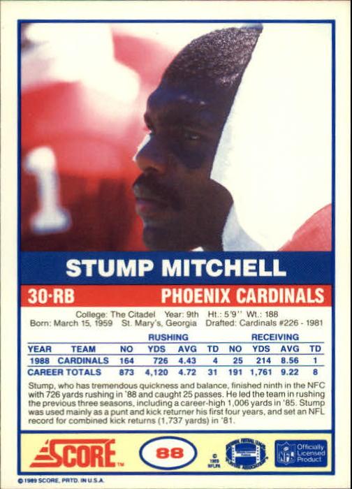 1989-Score-Football-Card-s-1-200-Rookies-A0435-You-Pick-10-FREE-SHIP thumbnail 169