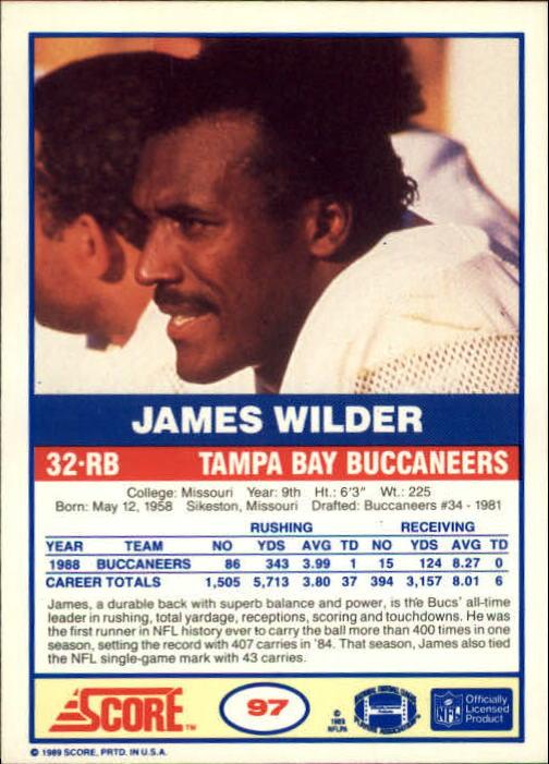 1989-Score-Football-Card-s-1-200-Rookies-A0435-You-Pick-10-FREE-SHIP thumbnail 187
