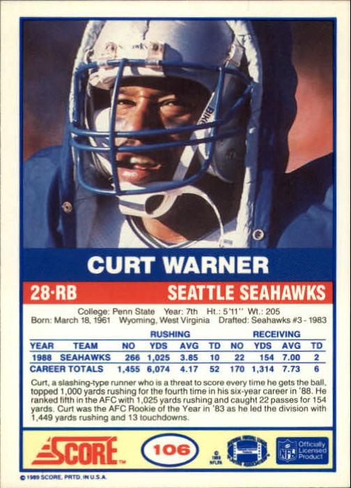 1989-Score-Football-Card-s-1-200-Rookies-A0435-You-Pick-10-FREE-SHIP thumbnail 207