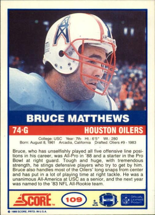 1989-Score-Football-Card-s-1-200-Rookies-A0435-You-Pick-10-FREE-SHIP thumbnail 213