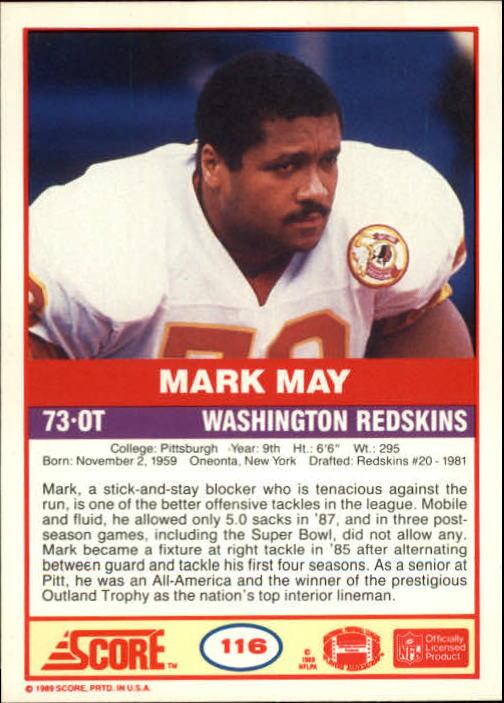1989-Score-Football-Card-s-1-200-Rookies-A0435-You-Pick-10-FREE-SHIP thumbnail 227