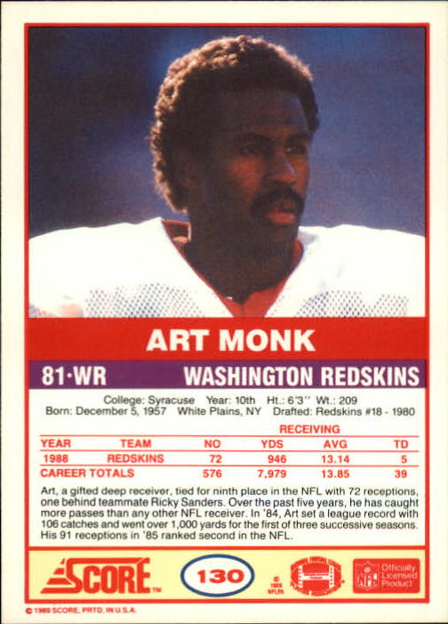 1989-Score-Football-Card-s-1-200-Rookies-A0435-You-Pick-10-FREE-SHIP thumbnail 257