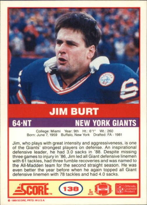 1989-Score-Football-Card-s-1-200-Rookies-A0435-You-Pick-10-FREE-SHIP thumbnail 273