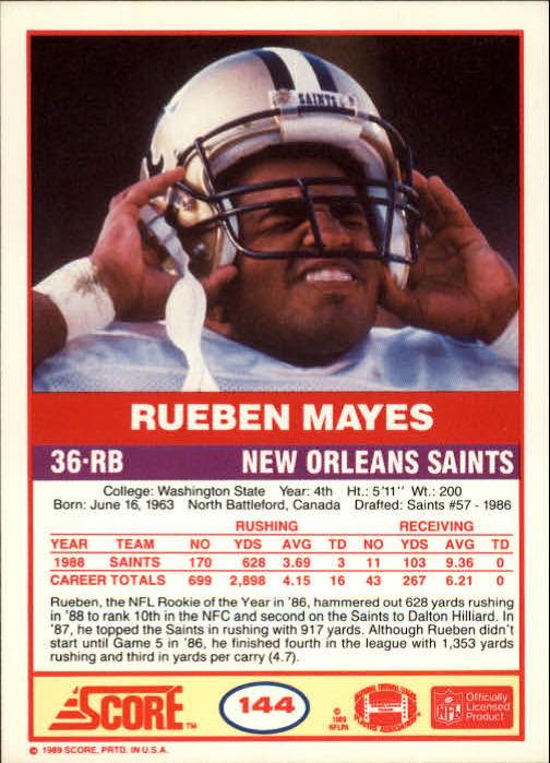1989-Score-Football-Card-s-1-200-Rookies-A0435-You-Pick-10-FREE-SHIP thumbnail 285