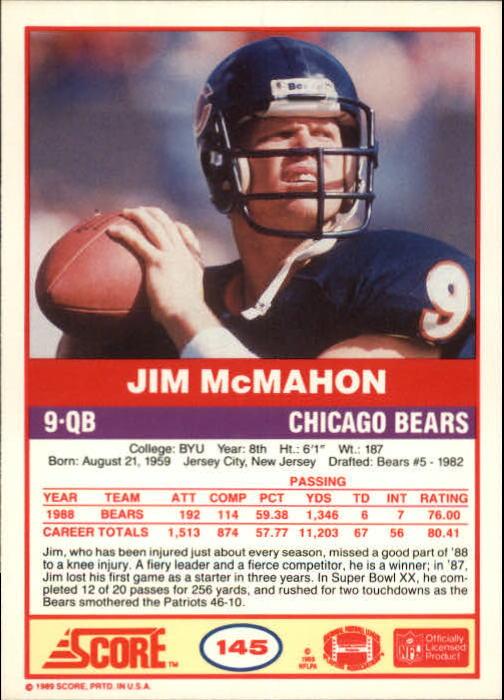 1989-Score-Football-Card-s-1-200-Rookies-A0435-You-Pick-10-FREE-SHIP thumbnail 287