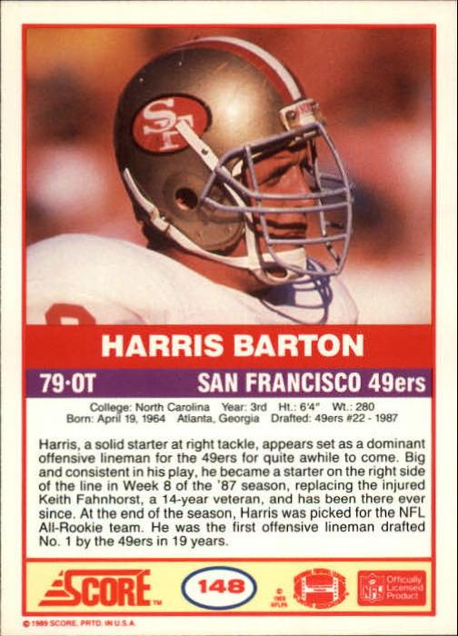 1989-Score-Football-Card-s-1-200-Rookies-A0435-You-Pick-10-FREE-SHIP thumbnail 293