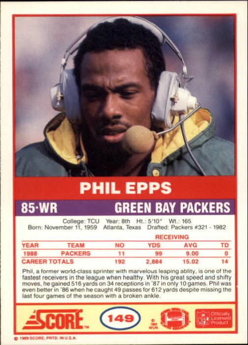 1989-Score-Football-Card-s-1-200-Rookies-A0435-You-Pick-10-FREE-SHIP thumbnail 295