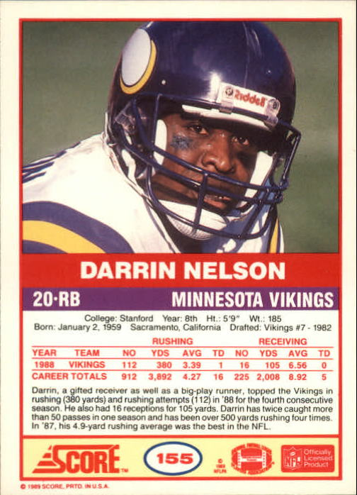 1989-Score-Football-Card-s-1-200-Rookies-A0435-You-Pick-10-FREE-SHIP thumbnail 307