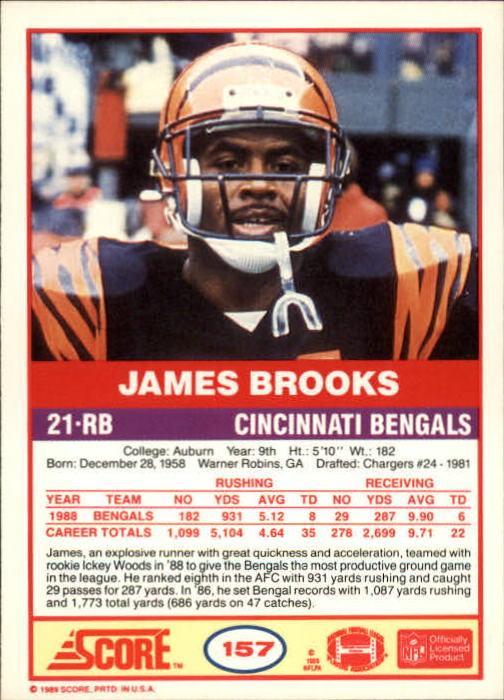 1989-Score-Football-Card-s-1-200-Rookies-A0435-You-Pick-10-FREE-SHIP thumbnail 311