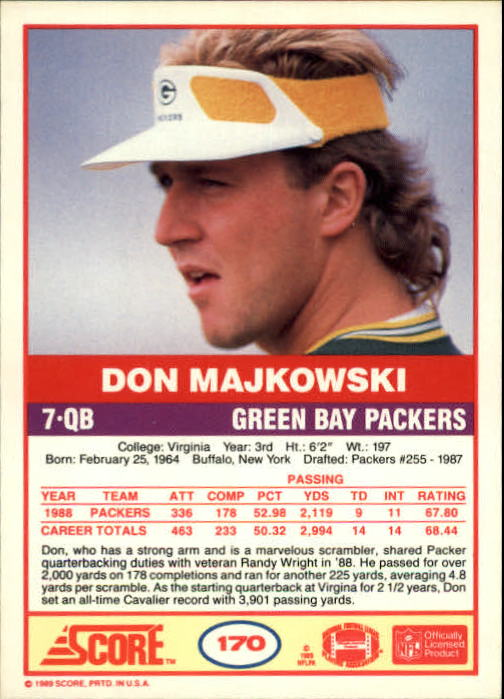 1989-Score-Football-Card-s-1-200-Rookies-A0435-You-Pick-10-FREE-SHIP thumbnail 337