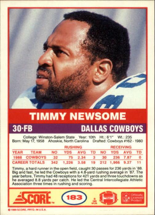 1989-Score-Football-Card-s-1-200-Rookies-A0435-You-Pick-10-FREE-SHIP thumbnail 363