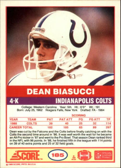 1989-Score-Football-Card-s-1-200-Rookies-A0435-You-Pick-10-FREE-SHIP thumbnail 367