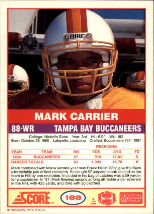 1989-Score-Football-Card-s-1-200-Rookies-A0435-You-Pick-10-FREE-SHIP thumbnail 373