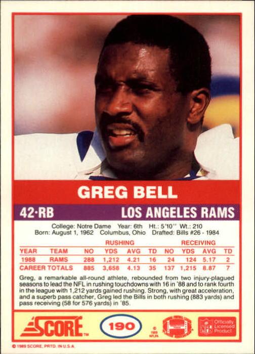 1989-Score-Football-Card-s-1-200-Rookies-A0435-You-Pick-10-FREE-SHIP thumbnail 377