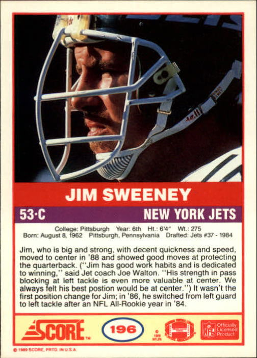 1989-Score-Football-Card-s-1-200-Rookies-A0435-You-Pick-10-FREE-SHIP thumbnail 389