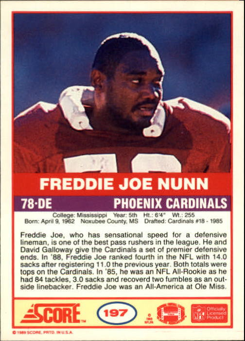 1989-Score-Football-Card-s-1-200-Rookies-A0435-You-Pick-10-FREE-SHIP thumbnail 391