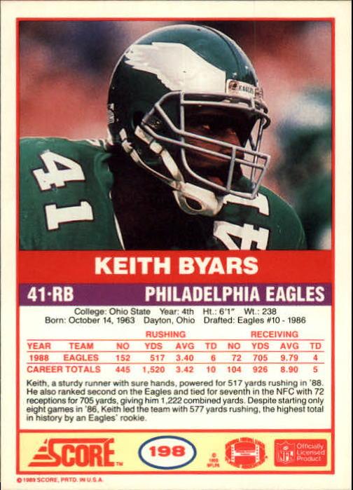 1989-Score-Football-Card-s-1-200-Rookies-A0435-You-Pick-10-FREE-SHIP thumbnail 393