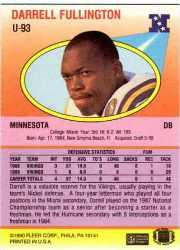1990-Fleer-Update-FB-Cards-1-120-Rookies-You-Pick-Buy-10-cards-FREE-SHIP thumbnail 172