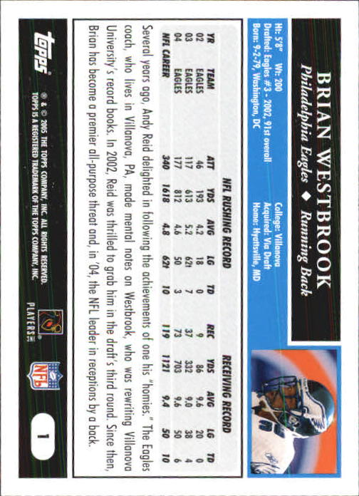 2005-Topps-First-Edition-Football-Card-Pick-1-301 thumbnail 3