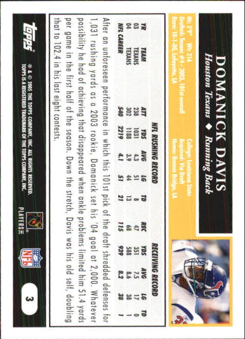 2005-Topps-First-Edition-Football-Card-Pick-1-301 thumbnail 7