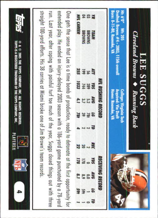 2005-Topps-First-Edition-Football-Card-Pick-1-301 thumbnail 9