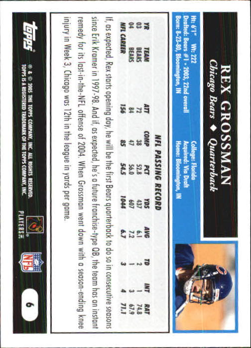 2005-Topps-First-Edition-Football-Card-Pick-1-301 thumbnail 13