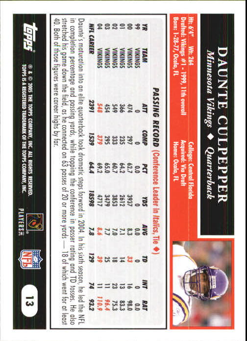 2005-Topps-First-Edition-Football-Card-Pick-1-301 thumbnail 25
