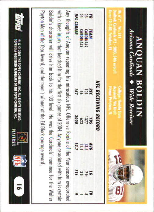 2005-Topps-First-Edition-Football-Card-Pick-1-301 thumbnail 29