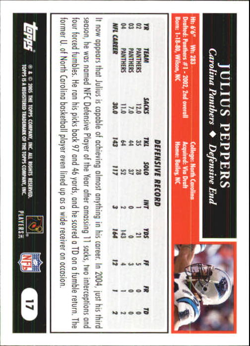 2005-Topps-First-Edition-Football-Card-Pick-1-301 thumbnail 31