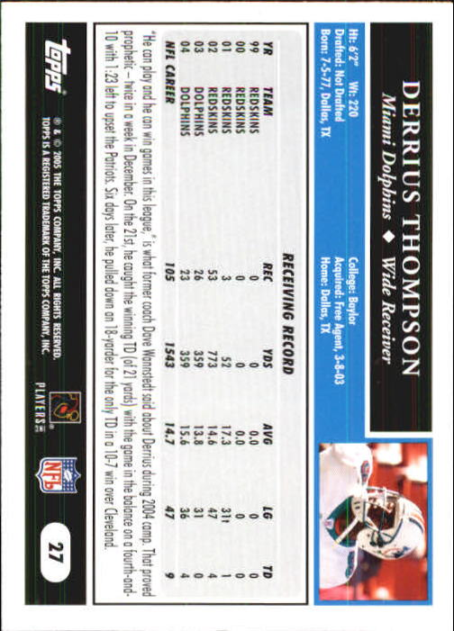 2005-Topps-First-Edition-Football-Card-Pick-1-301 thumbnail 43