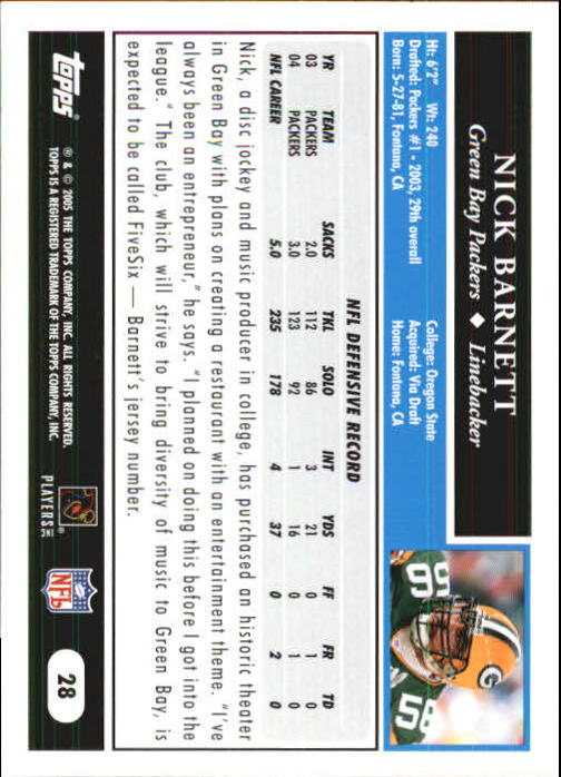2005-Topps-First-Edition-Football-Card-Pick-1-301 thumbnail 45