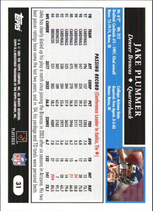 2005-Topps-First-Edition-Football-Card-Pick-1-301 thumbnail 51