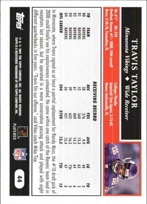 2005-Topps-First-Edition-Football-Card-Pick-1-301 thumbnail 75
