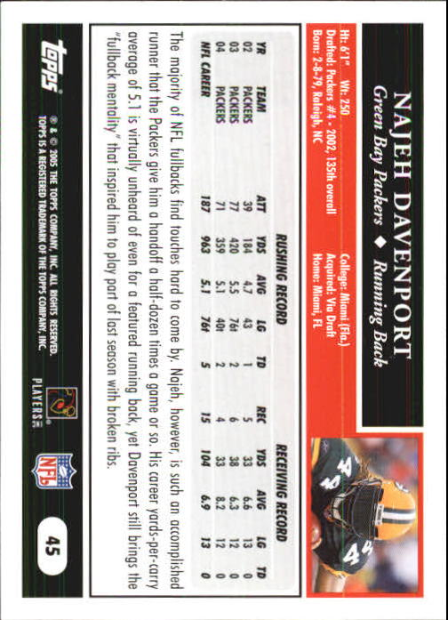 2005-Topps-First-Edition-Football-Card-Pick-1-301 thumbnail 77