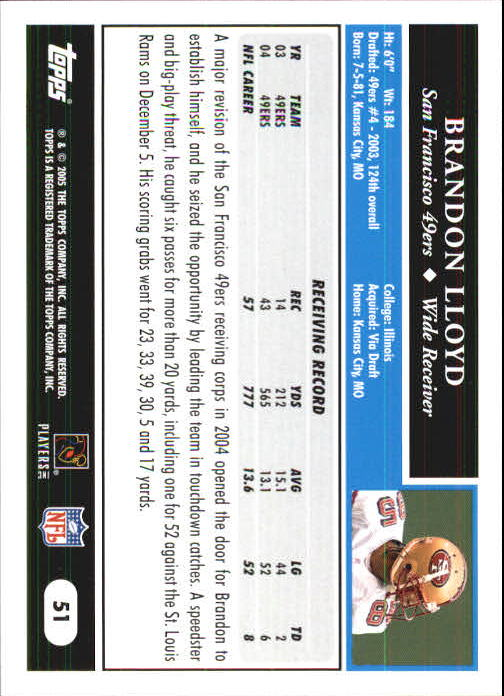 2005-Topps-First-Edition-Football-Card-Pick-1-301 thumbnail 85
