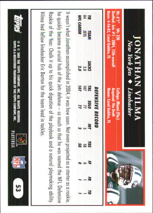 2005-Topps-First-Edition-Football-Card-Pick-1-301 thumbnail 89