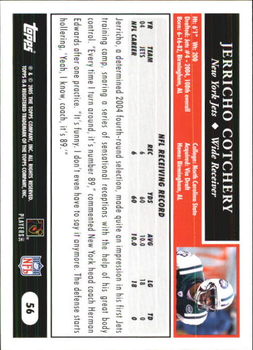 2005-Topps-First-Edition-Football-Card-Pick-1-301 thumbnail 91