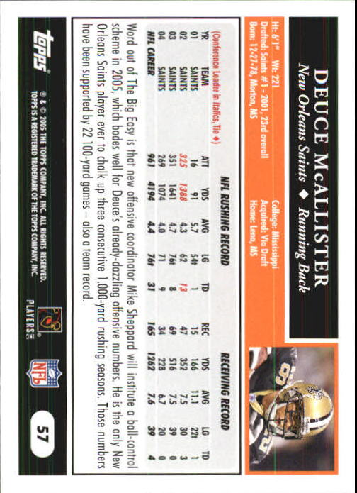 2005-Topps-First-Edition-Football-Card-Pick-1-301 thumbnail 93
