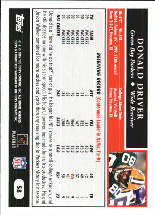 2005-Topps-First-Edition-Football-Card-Pick-1-301 thumbnail 95