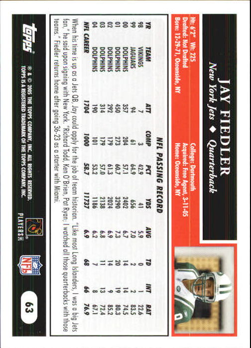 2005-Topps-First-Edition-Football-Card-Pick-1-301 thumbnail 103
