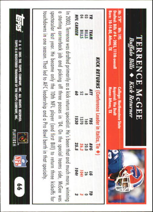 2005-Topps-First-Edition-Football-Card-Pick-1-301 thumbnail 107