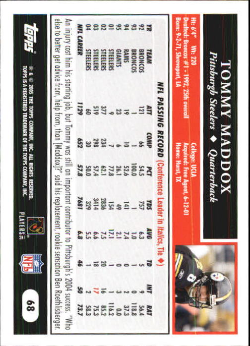 2005-Topps-First-Edition-Football-Card-Pick-1-301 thumbnail 109