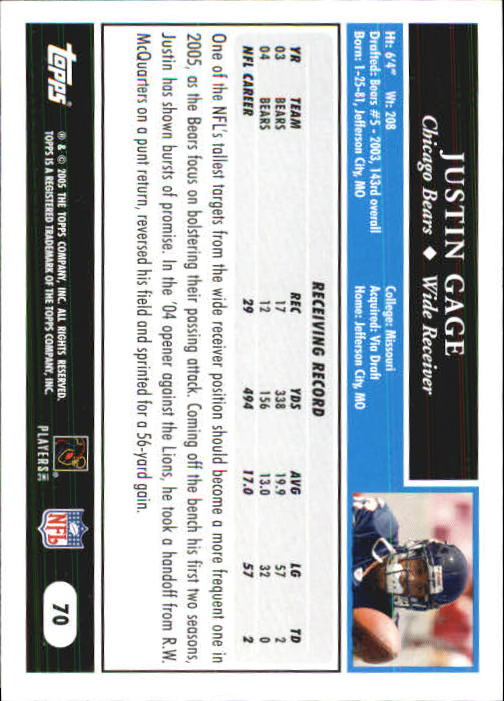 2005-Topps-First-Edition-Football-Card-Pick-1-301 thumbnail 113