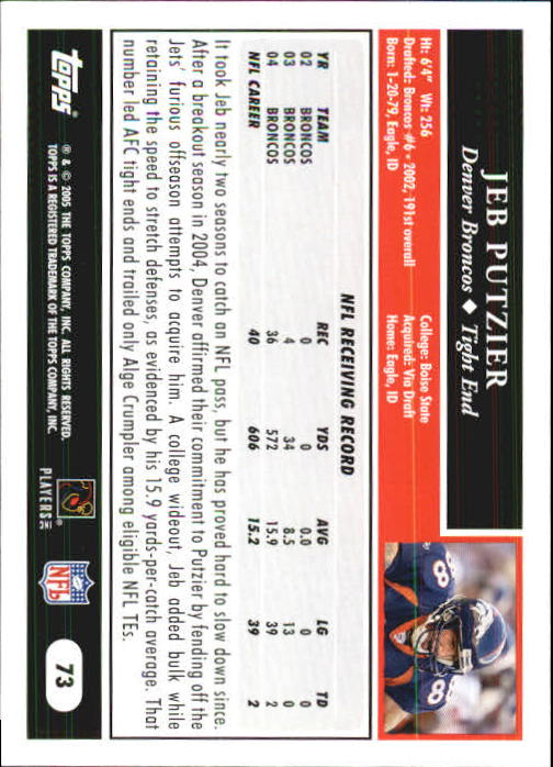2005-Topps-First-Edition-Football-Card-Pick-1-301 thumbnail 119